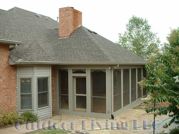 Prefabricated roofing for screen porch joy studio design for Prefab screened porches